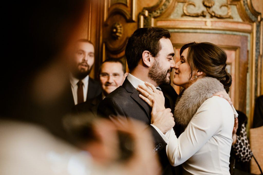 casamento no palacio da cruz vermelha primeiro beijo